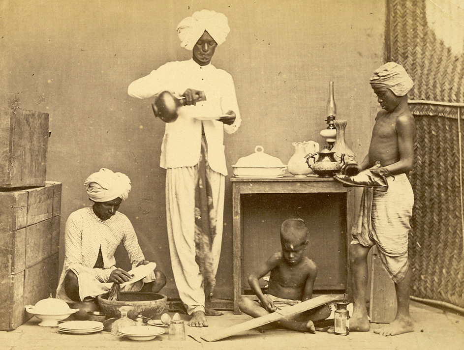Domestic servants, Madras